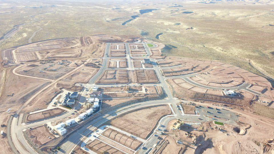 Desert Color Aerial